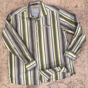 Tommy Bahama, XL, button down shirt